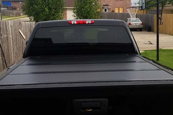 Customer Submitted Image - ProZ ProFold Premium Tri-Fold Tonneau Cover for 2007-2013 Chevy Silverado & GMC Sierra