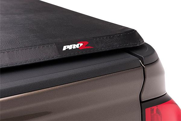 proz softfold premium tri fold tonneau cover detail