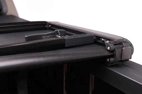 proz softfold premium tri fold tonneau cover fold detail