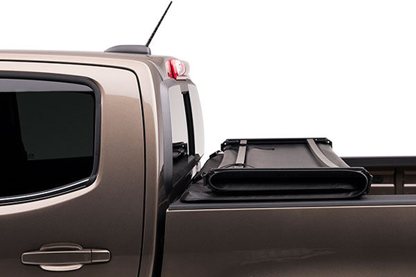proz softfold premium tri fold tonneau cover side folded