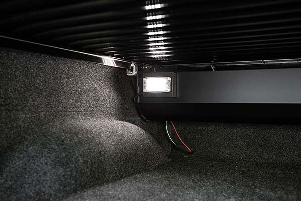 retrax powertraxpro tonneau cover interior light