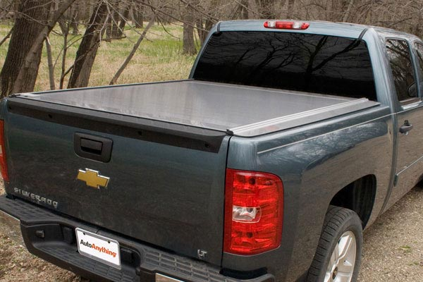 retrax powertraxone tonneau cover silver rear