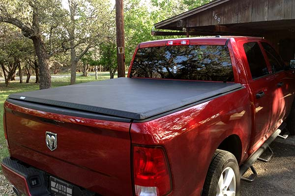 Tonno Pro Hard Fold Tonneau Installed on 2012 Dodge Ram Short Bed - Customer Submitted Image