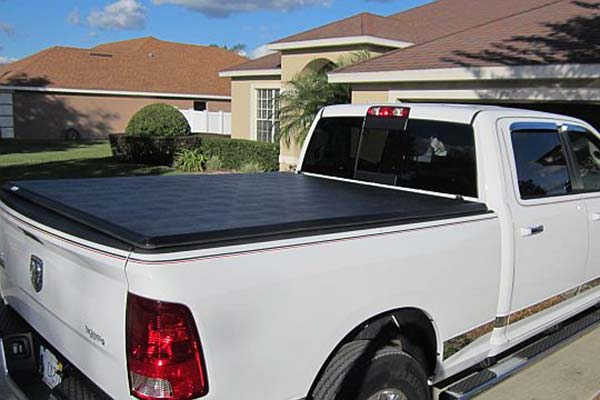 Tonno Pro Hard TriFold Tonneau Cover Installed on 2013 Dodge Ram Standard Bed - Customer Submitted Image