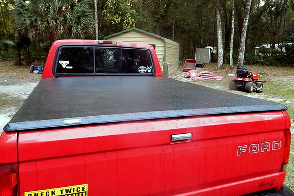TonnoPro Hard Fold Tonneau Cover Installed on 1996 Ford F-150 Standard Bed - Customer Submitted Image
