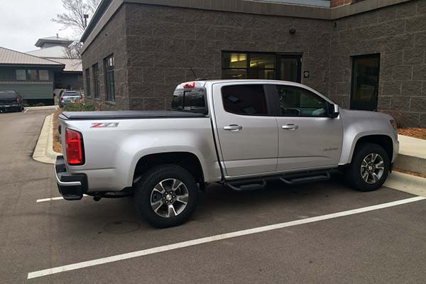 Customer Submitted Image - TonnoPro TonnoFold Tonneau Cover for 2015-2019 Chevy Colorado & GMC Canyon