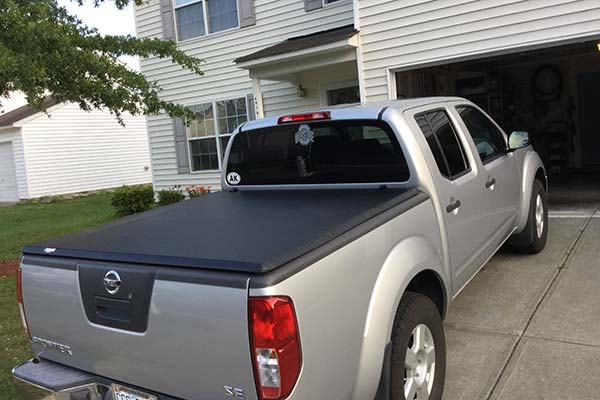 Customer Submitted Image - TonnoPro TonnoFold Tonneau Cover for 2005-2019 Nissan Frontier