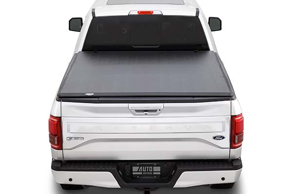 tonnopro tonnofold tri fold tonneau cover back closed