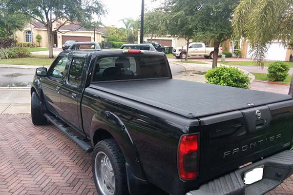 Customer Submitted Image - TruXedo TruXport Roll Up Tonneau Cover for 1998 to 2004 Nissan Frontier
