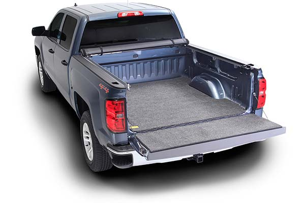 truxedo lo pro qt soft roll up tonneau cover tailgate open