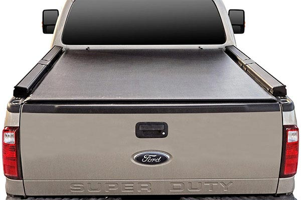 truxedo lo pro qt invis a rack tonneau cover closed