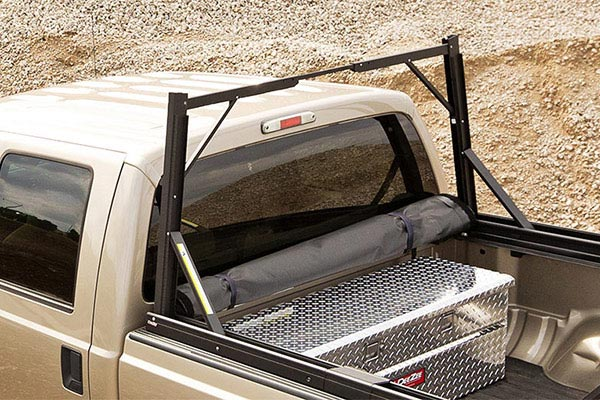 truxedo lo pro qt invis a rack tonneau cover stowed
