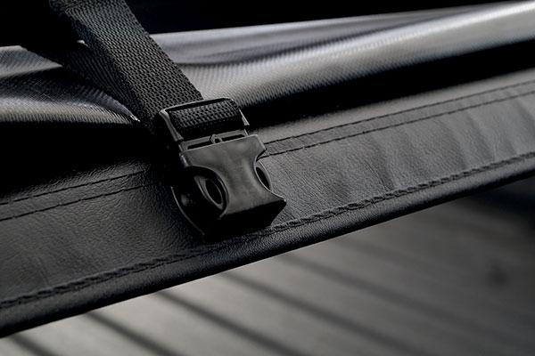 truxmart tri fold tonneau cover fasten
