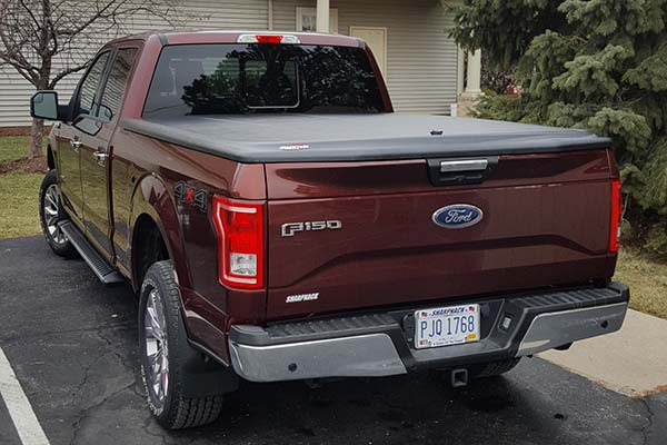 Customer Submitted Image - UnderCover SE Tonneau Cover for 2015 to 2019 Ford F-150