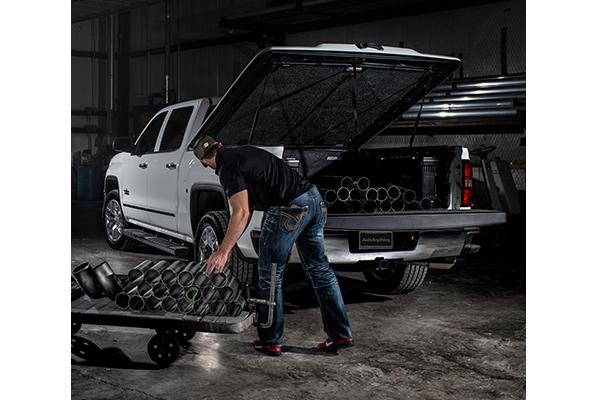 undercover elite lx tonneau easy load cargo