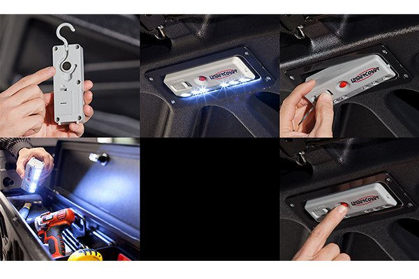 undercover elite lx tonneau removable led light