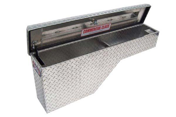 brute pro series pork chop wheel well toolbox open