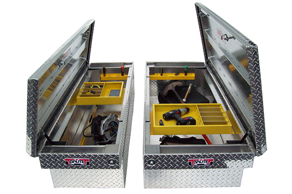 brute pro series full lid crossover toolbox open