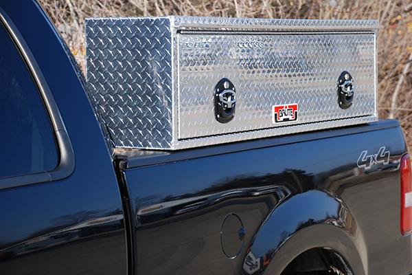 brute pro series hd topsider toolbox on truck