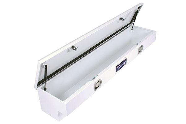 dee zee hardware series side mount toolbox open