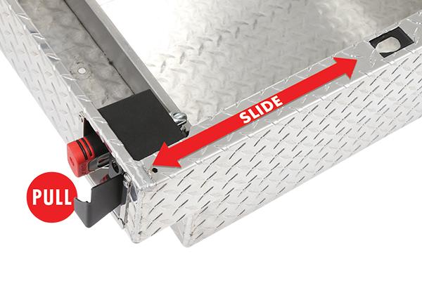 dee zee padlock crossover toolbox retractable padlock
