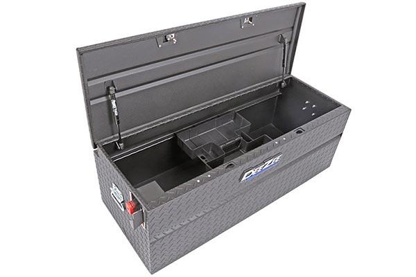 dee zee padlock utility chest toolbox open