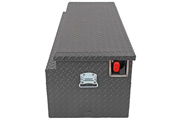 dee zee padlock utility chest toolbox side