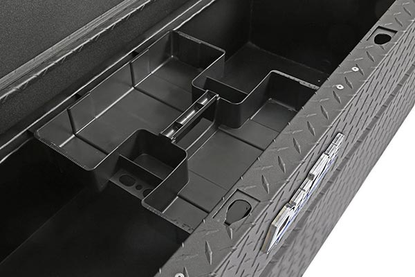 dee zee padlock utility chest toolbox small parts tray