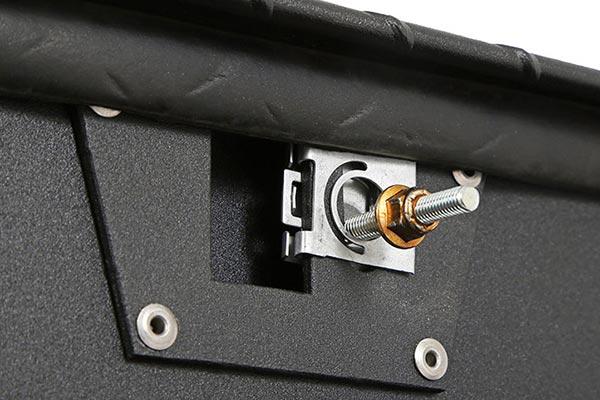dee zee padlock utility chest toolbox striker