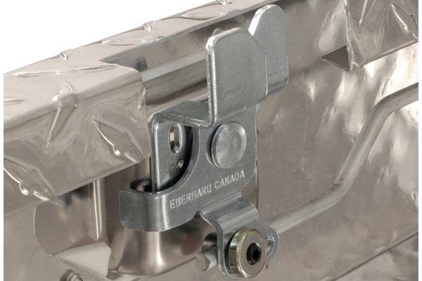 dee zee red label single lid low profile crossover tool latch