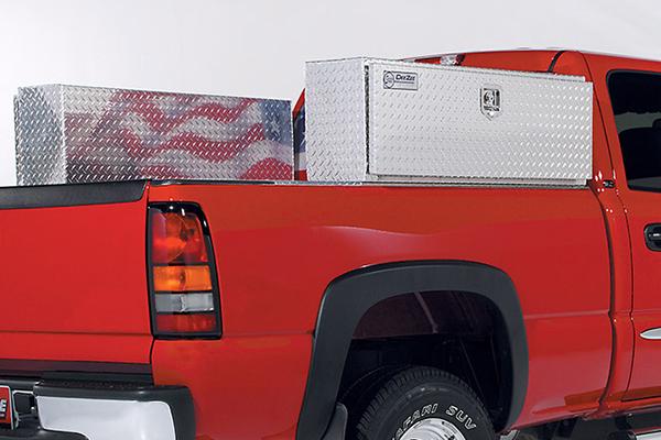 deezee topsider toolbox on truck