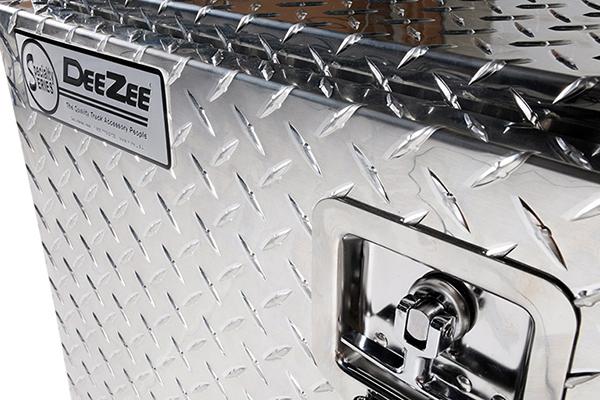 deezee underbed toolbox lock and logo