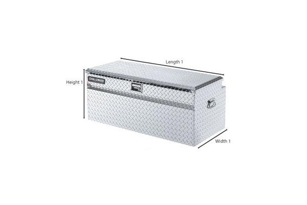 deflecta shield truck tool chest with handles diagram