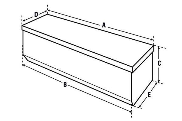 delta measurement diagram chest