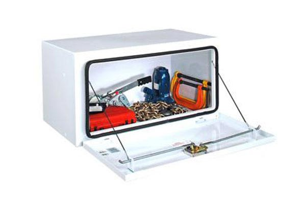delta pro steel underside box underbed open