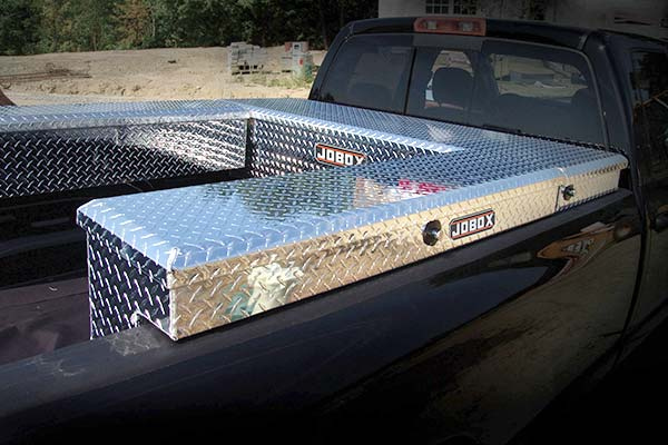 JOBOX Aluminum Side Mount Truck Tool Boxes Truck Bed Side Mount