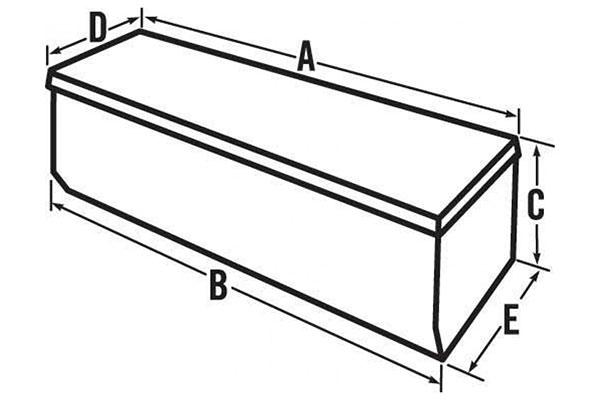 jobox premium aluminum chest toolbox chart