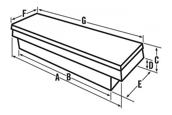 jobox premium aluminum single lid crossover toolbox chart