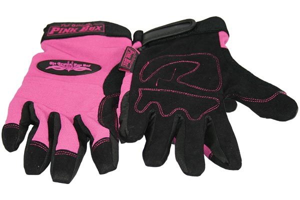 pink box home repair set optional accessories multi purpose gloves