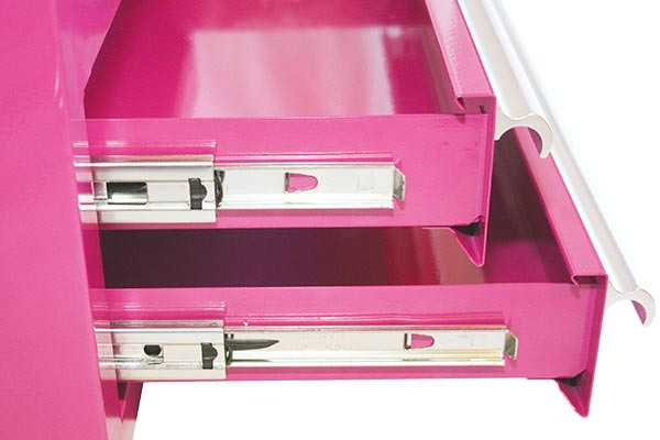 pinkbox bench top toolbox