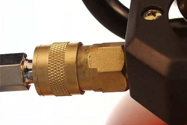 powermate air compressor connect