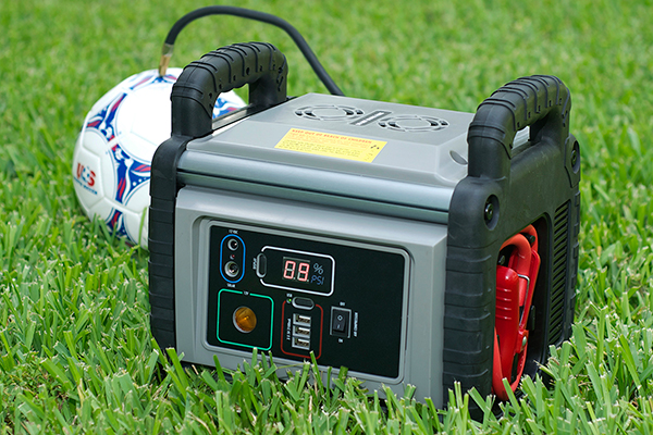 proz heavy duty portable power station inflate ball