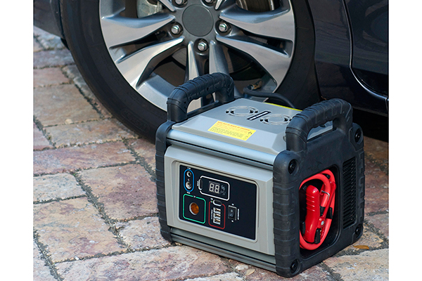 proz heavy duty portable power station inflate tire