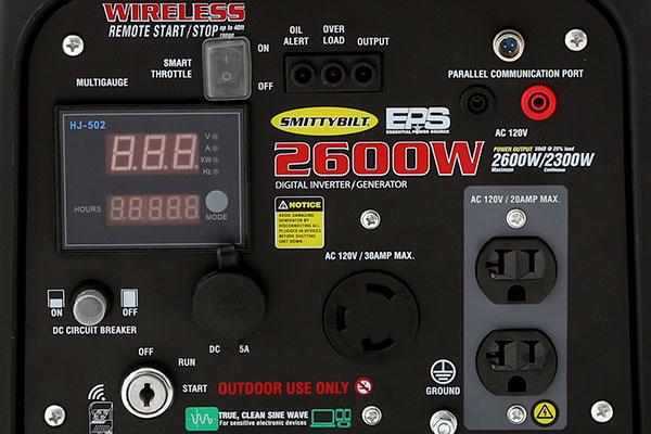 smittybilt eps inverter generator panel