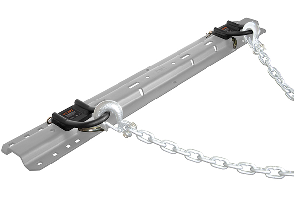 curt 5th wheel safety chain loops installed ghosted