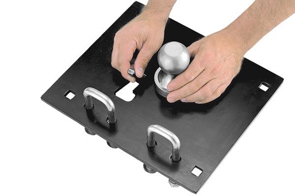 draw tite remov a ball gooseneck locks