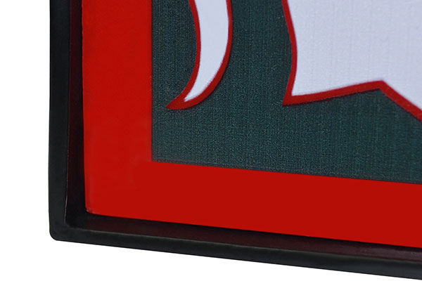 fanmats ncaa light up hitch cover detail