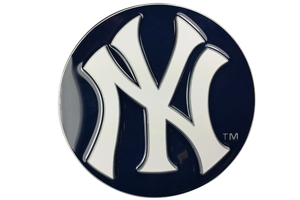 siskiyou sports mlb metal hitch covers face