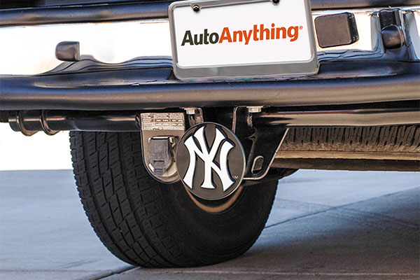 siskiyou sports mlb metal hitch covers installed
