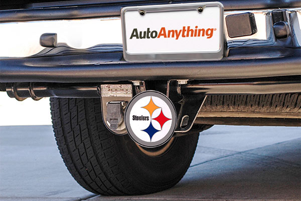 siskiyou sports nfl metal hitch covers installed